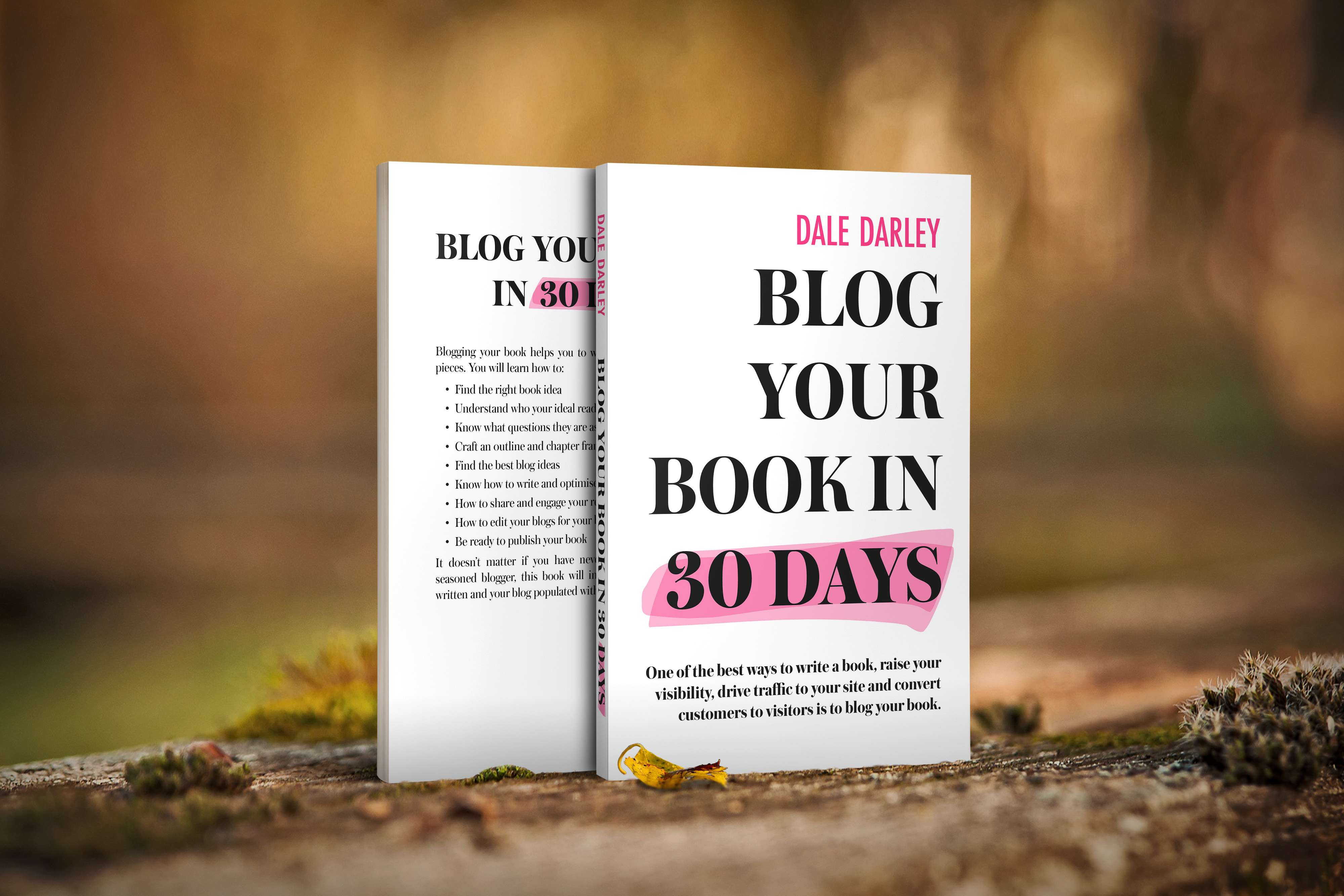 Blog your book in 30 days