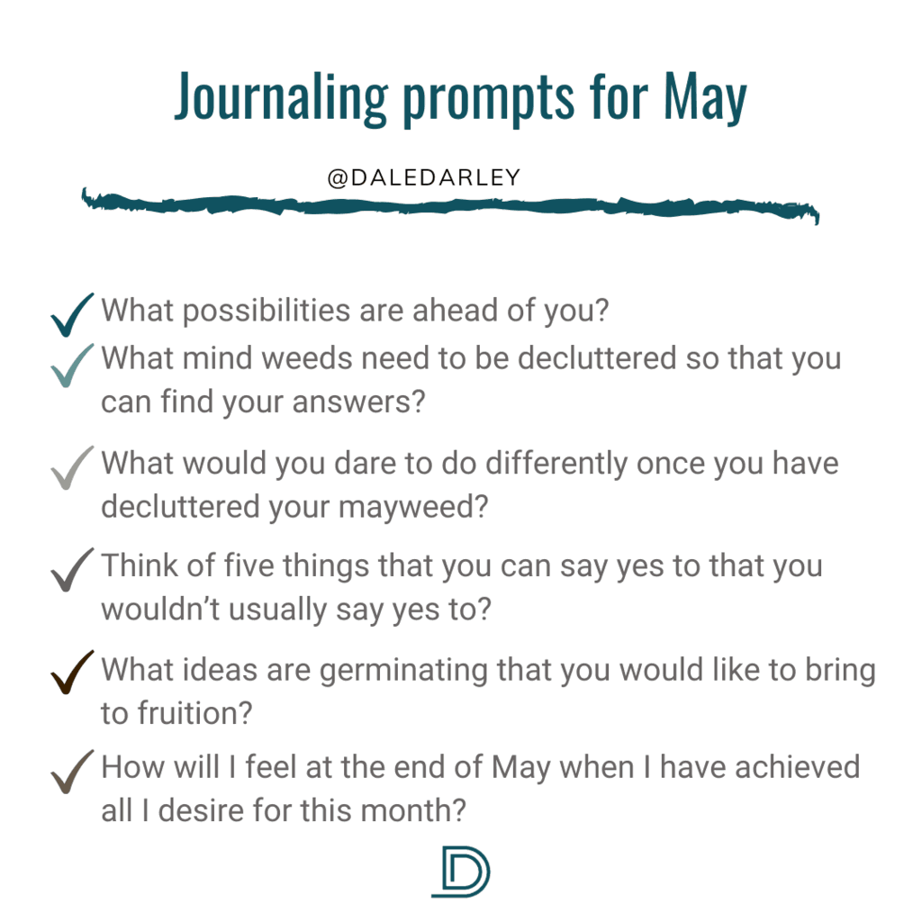 Journaling Prompts for May